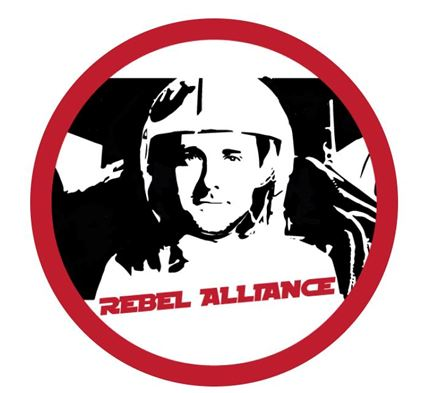 Jake Brewer Imagined as a Rebel Pilot
