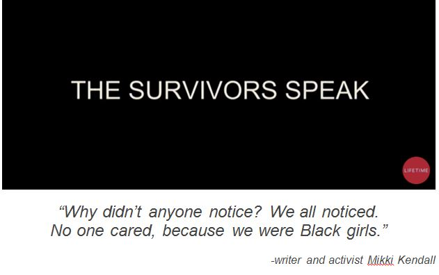 Survivors speak out
