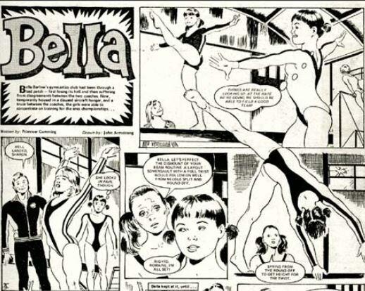 'Bella',  Tammy  (written by   Primrose Cumming, art by John Armstrong)