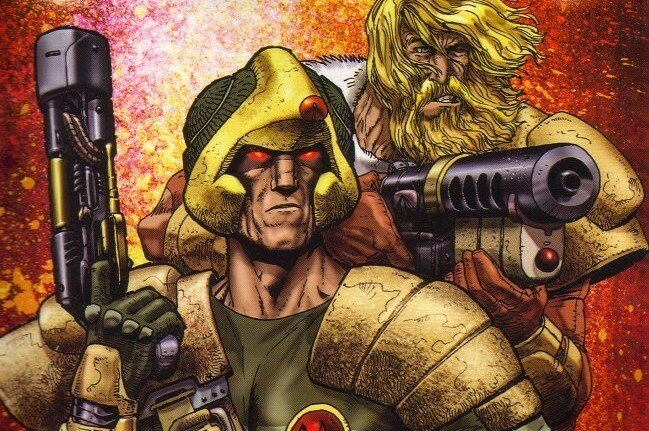 STRONTIUM DOG FROM  2000AD , ART BY CARLOS EZQUERRA