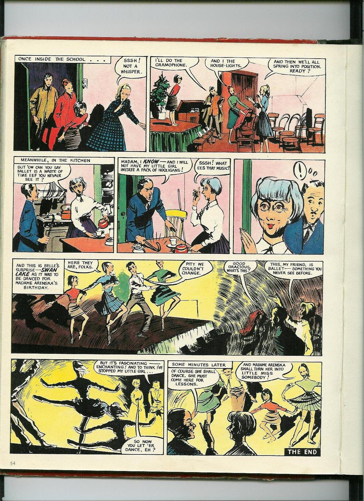 'Belle of the Ballet in Little Miss Nobody'. ( Girl Annual 3 , Hulton, 1954, pp. 81-84)