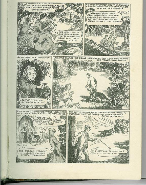 'The Silent Three'. ( School Friend Annual , AP, 1958, p. 7)