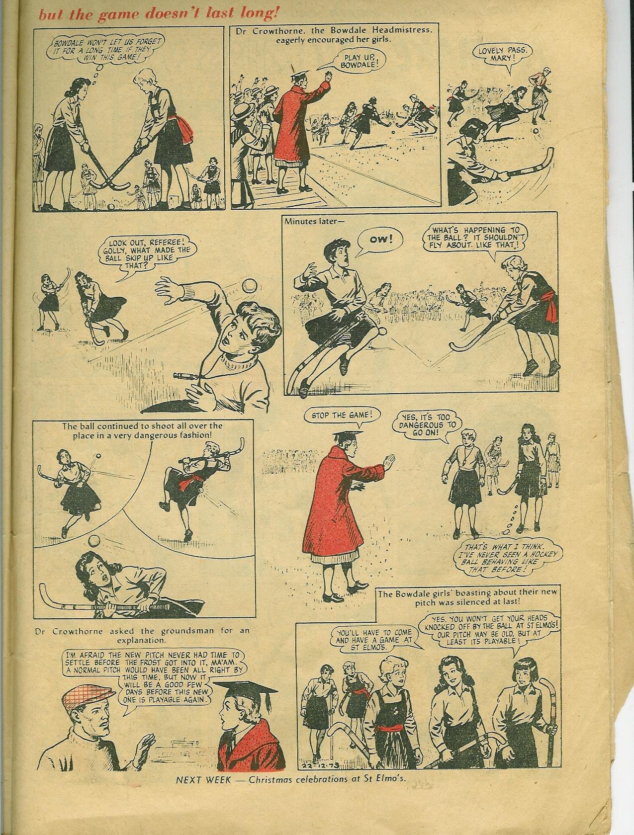 'The Four Marys' ( Bunty , DC Thomson, 832, Dec. 22 1973, pp. 16-17)