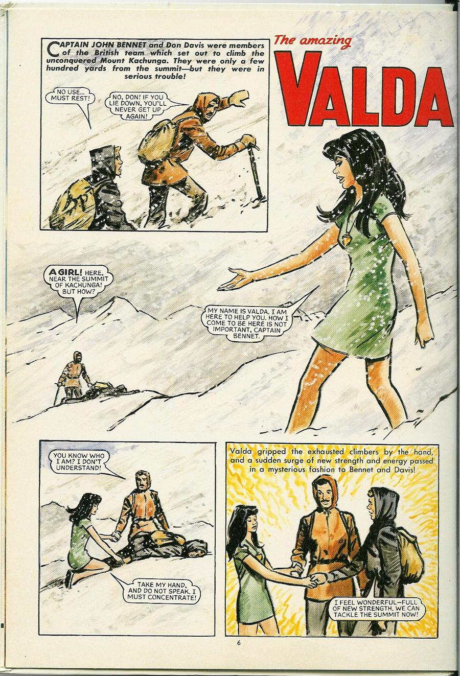 'Valda' ( Mandy  Annual, DC Thomson, 1976, p.2)