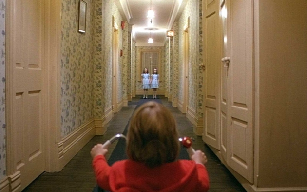 The Shining  is the last stop on this Magic School Bus ride through the lineage of horror films. Not only is it considered one of the greatest horror films ever made, it might be one of the greatest films ever constructed, period. Filmmaking guru, Stanley Kubrick adapted Stephen King's novel, but took his own approach (which Stephen King fucking hated). Kubrick created a psychological maze. Not only are the Torrance's trapped inside the hotel, but so is the audience. Every last inch of the frame is strategically set to subliminally trigger and fuck with you.  The Shining  also shows that horror doesn't always lie in the dark or on Halloween. Most of the truly terrifying sequences in  The Shining  take place I very well lit rooms or hallways or in broad daylight. Kubrick's execution of the psychological and fairytale aspect of the film opened up the dimensions to horror films that have become textbook for all the aspiring Jordan Peele's and M. Night Shamlyamadingdong's out there.