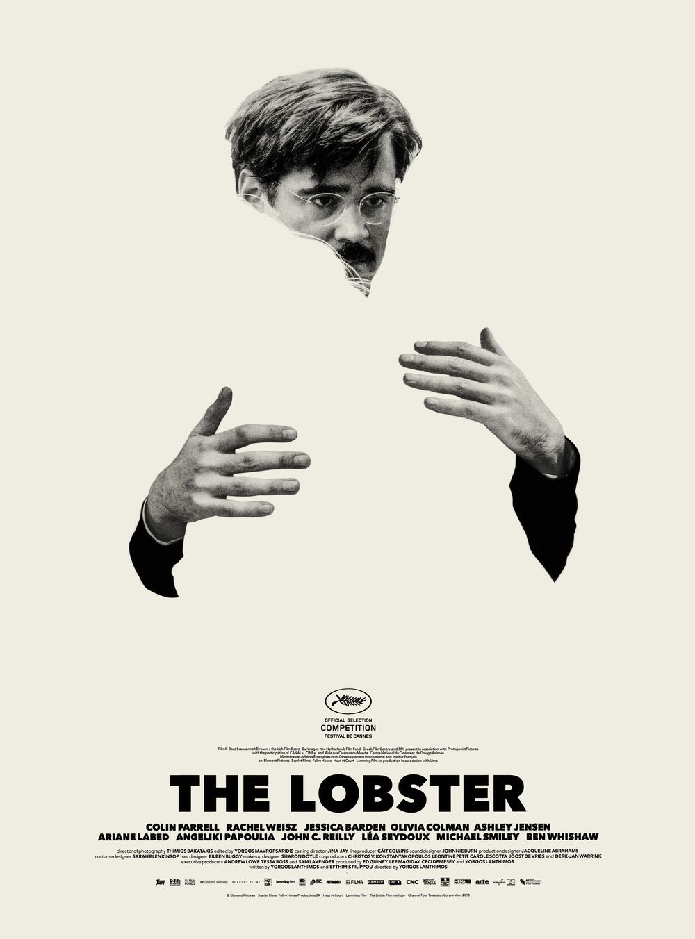 Day 2: The Lobster  - The second day of the year gave us our first film by Yorgos Lanthimos and it blew us away. This dude's a genius, seriously. Colin Farrel plays a man who is going to be transformed into a lobster if he can't find the perfect partner in 30 days.