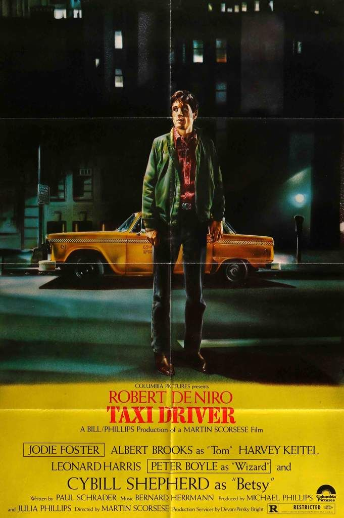 Day 8: Taxi Driver  - We started the week off with one of my favorites, by the legend Martin Scorsese. 'Taxi Driver' follows Robert DeNiro in his iconic portrayal of Travis Bickle, a fed up taxi driver who decides to clean up the streets of New York himself.