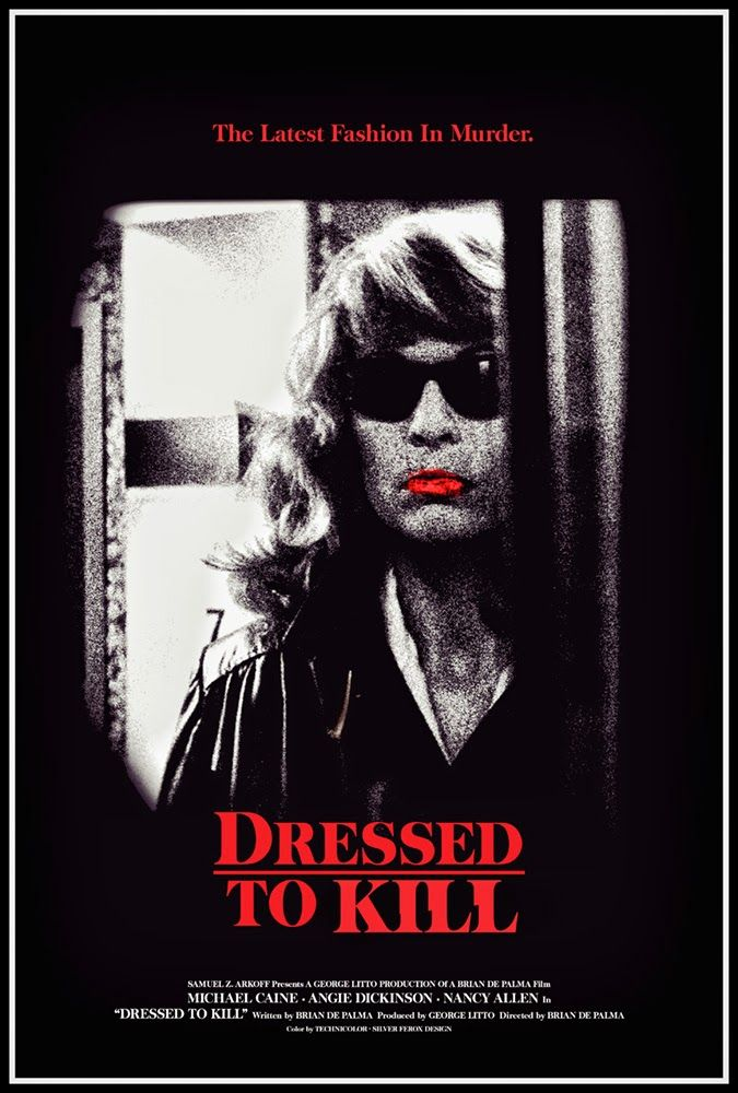 Day 10: Dressed to Kill  - If you've looked ahead or have been following the Film of the Day on our Instagram, you know that this week was filled with pictures by Brian De Palma, and 'Dressed to Kill' is what kicked it off for us! 'Dressed to Kill' is about as close you can get to remaking 'Psycho', but De Palma does it with a more modern take.