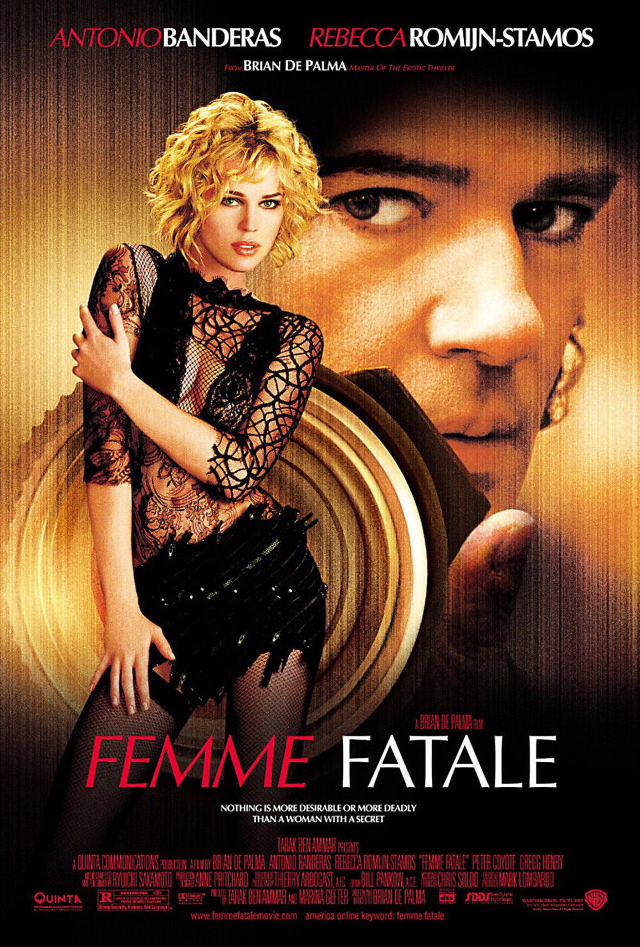 Day 18: Femme Fatale  - Another Day, another De Palma film…  Femme Fatale  may not go down as one of the most memorable De Palma films, it does take an interesting narrative and brings the whole film full circle, only the way De Palma could.