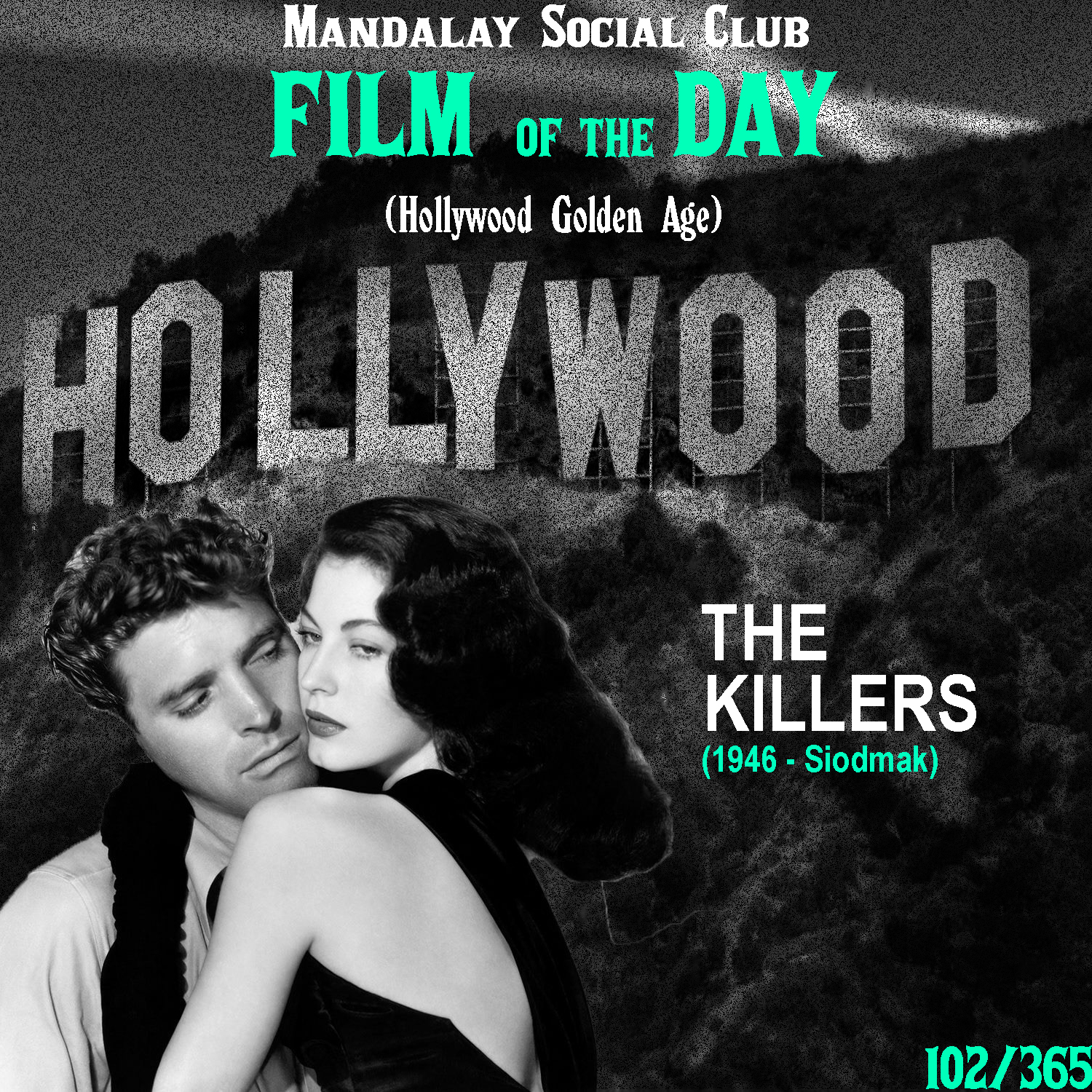The Killers     (dir. Robert Siodmak)   Burt Lancaster was one of the biggest names in the Golden Age of Hollywood and he got his start right here in 1946 with Robert Siodmak's  The Killers .  Lancaster stars as The Swede, who in the opening minutes of the film is gunned down by two killers on the hunt for them. Employing a flashback approach similar to  Citizen Kane,  a PI investigating the case in the wake of an insurance policy taken out on The Swede, begins to uncover The Swede's messy past that led to him being killed all alone in his bed… Ava Garner, another classical Hollywood legend, got her first noticed role under Siodmak in  The Killers .  While  The Killers  may be more well recognized as staple in the film noir genre, it still acted as an important piece of Hollywood's Golden Age. Lancaster and Garner would end up being some of the biggest stars of the era, the latter even marrying Frank Sinatra for some time. If it wasn't for  The Killers , the Golden Age's identity would be nowhere close to where it is now!    4/5     WATCH: YouTube