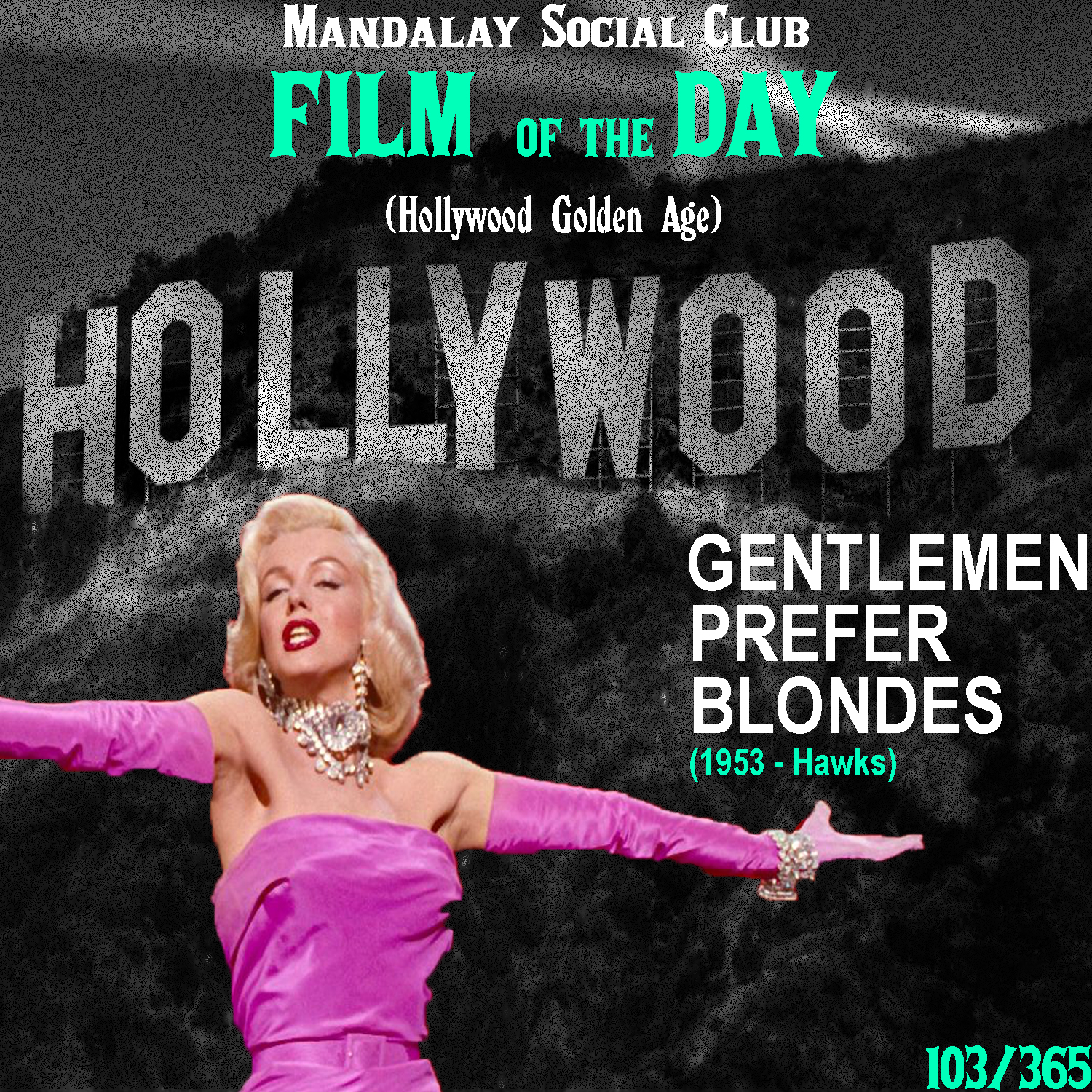 Gentlemen Prefer Blondes     (dir. Howard Hawks)   Howard Hawks is often seen as the most important filmmaker of all time. His impeccable sense for storytelling melded with his fluid and exciting use of the camera makes for some of the most memorable moments in cinema history, and  Gentlemen Prefer Blondes  is filled with moments like these.  Starring Marilyn Monroe and Jane Russell,  Gentlemen Prefer Blondes  is a story about two showgirls who set sail from the US to Europe on a luxury cruise liner. Monroes character, Lorelei is engaged to be married to some dopey nerd because he has a lot of money. Russell's character, Dorothy, however has a much different approach to men, in that she's simply interested in the most attractive men life has to offer. Whilese these two very different friends spend time on this ship, they start to realize that Lorelei's fiancé has sent an investigator on the ship to make sure that she remains faithful to him while he's away/  Moments from this film have been constantly parodied and paid homage to, specifically with Monroe's 'Diamonds are a Girl's Best Friend' routine.  Hawks' film is a big reason why Monroe became such a staple in pop culture as both her and Russell's performances were thoroughly praised by fans and critics alike.  Gentlemen  is the perfect musical to highlight the Golden Age of Hollywood's true form.    4/5     WATCH: iTunes