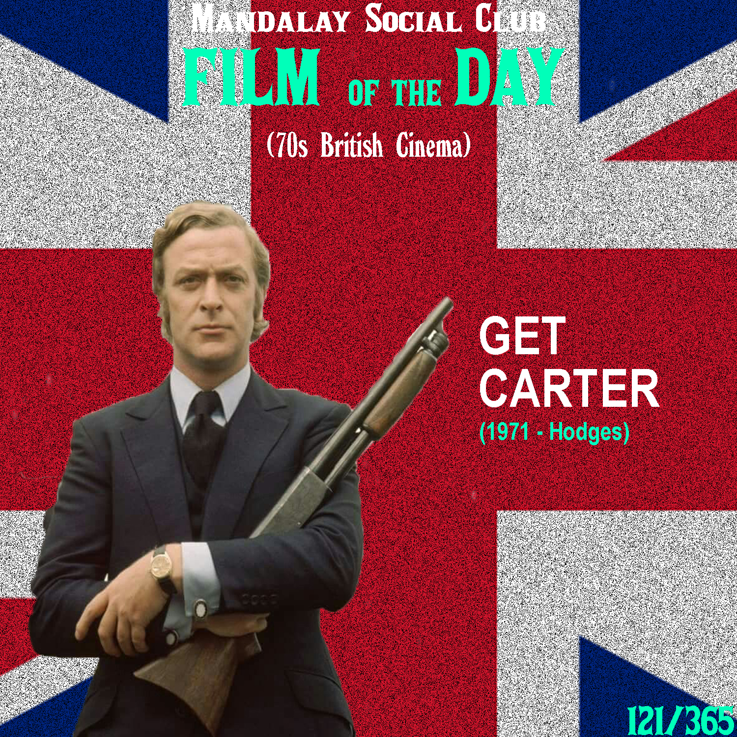 GET CARTER     (dir. Mike Hodges)   Before he was The Dark Knight's butler, Michael Caine was Jack Carter, one of the most distinguishable and revered characters in British cinema.  Caine plays Jack Carter, a London gangster who travels back to his native Newcastle to investigate the mysterious circumstances surrounding the death of his brother. The police are saying it was suicide by drunk driving, but Carter knows better than that. Carter is a serious man with little to no remorse for any of his actions and this cool demeanor of his makes for some of the most memorable moments in cinema along with an unforgettable climax.  Audiences, again, were polarized by this film. However, unlike the audiences for  Straw Dogs  who felt nothing but horror and disgust,  Get Carter  viewers were left with a real neutral feeling. The largely interconnected plot mixed with Carter's blatant, remorseless violence left viewers questioning what they had seen and it wasn't until many years later when young directors praised this film, that it was re-evaluated. Mike Hodges made his directorial debut with this film and in fact, Michael Caine really helped characterize this Jack Carter character. So much so, that he earned a production credit for it.    4/5     WATCH: Putlocker, iTunes