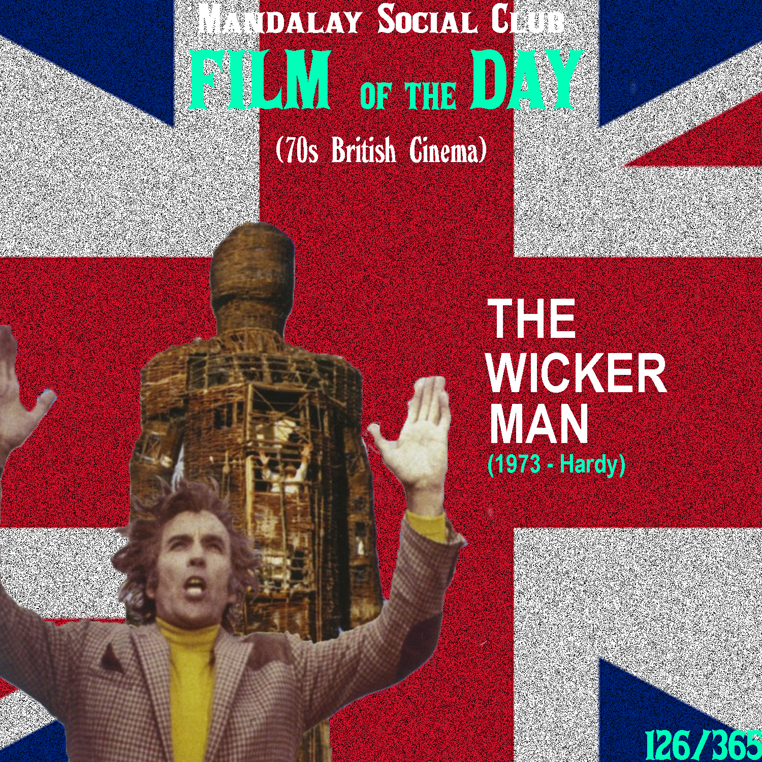 THE WICKER MAN     (dir. Robin Hardy)   This 1973 British horror film is unlike many other horror films I've ever come across.  Hardy's film stars Edward Woodward as Sgt. Howie, a mainland officer who's travelled to the Scottish island of Summerisle to search for a missing girl that was reported to him. While there, he notices that the locals are a little off and the whole island follows the sacred traditions of a Celtic pagan religion. This conflict with Sgt. Howie's strong Christian morals creates a striking divide in Howie being able to successfully carry out this search for the missing little girl.   The Wicker Man  was made in the attempt to really revive British horror cinema and it actually performed pretty poorly at the box office. However, time was very kind to this film and it was noted and praised for it's unique take on the horror genre. Hardy implements supernatural horror without anything supernatural having to take place and creates a stunning story about sexual guilt, repression, and how religion is a driving force behind all sexual aggravations in society.  Now, when searching for this film don't think you can put on the 2006 remake with Nic Cage and expect to feel and experience the same thing viewers of the original do… It's a legit steaming pile of shit.    5/5     WATCH: iTunes, Putlocker