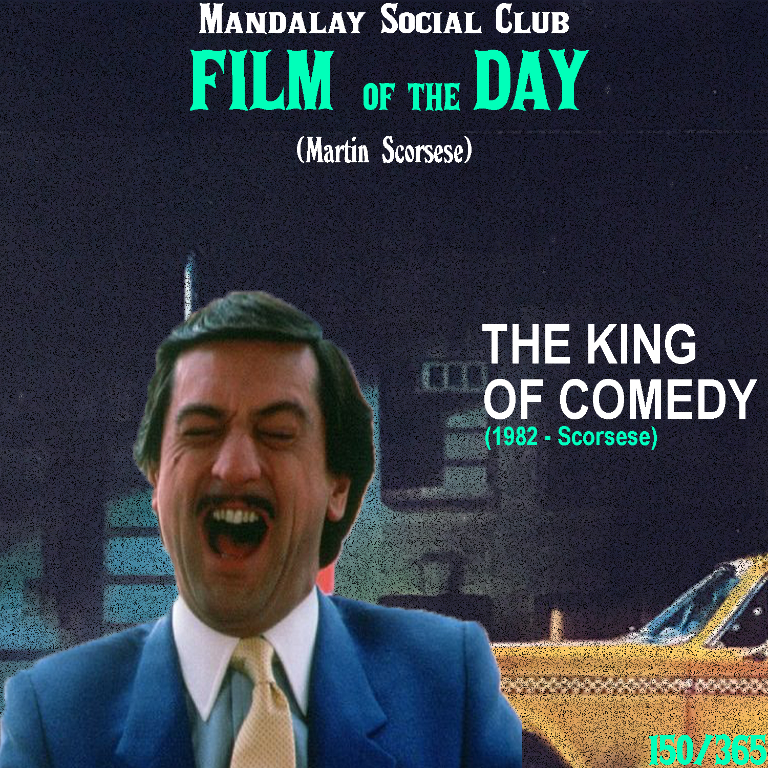 THE KING OF COMEDY     (dir. Martin Scorsese)   A horrifically overlooked film of Scorsese's,  The King of Comedy  is a sharp-witted and masterful approach to delusional narcissism.  Robert DeNiro stars as Rupert Pupkin, a delusional wanna-be comedian who will do anything, besides actually work, to get the attention of his favorite comic Jerry Langford, played by Jerry Lewis in a fictionalized character of himself.  Scorsese's inventive use of the camera is supplemented perfectly with the fine line between reality and delusion that Rupert spends the film treading on.  The King of Comedy  is not only a hilarious film, but it leaves so much open for interpretation that you can't help but continue thinking about it long after watching it.    5/5     WATCH :  Prime Video