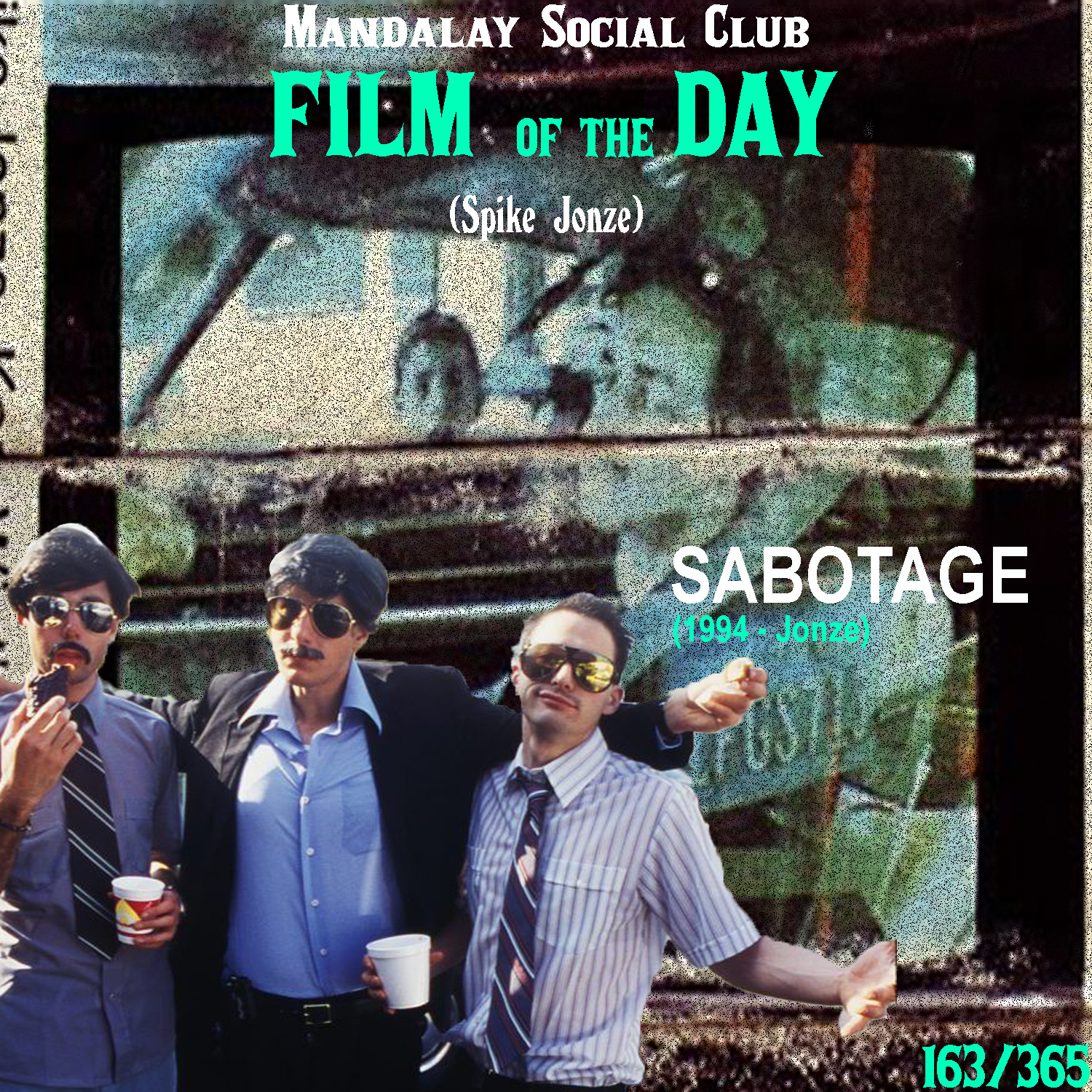 SABOTAGE     (dir. Spike Jonze)   In my humble opinion, Sabotage is one of the greatest music videos ever made.  Made for the Beastie Boys for one of their most iconic songs, Sabotage is an homage to 70s crime films and television. Filmed in such an incredibly guerrilla way, it's unpolished nature gives the music video it's true sense of character.     5/5     WATCH: YouTube
