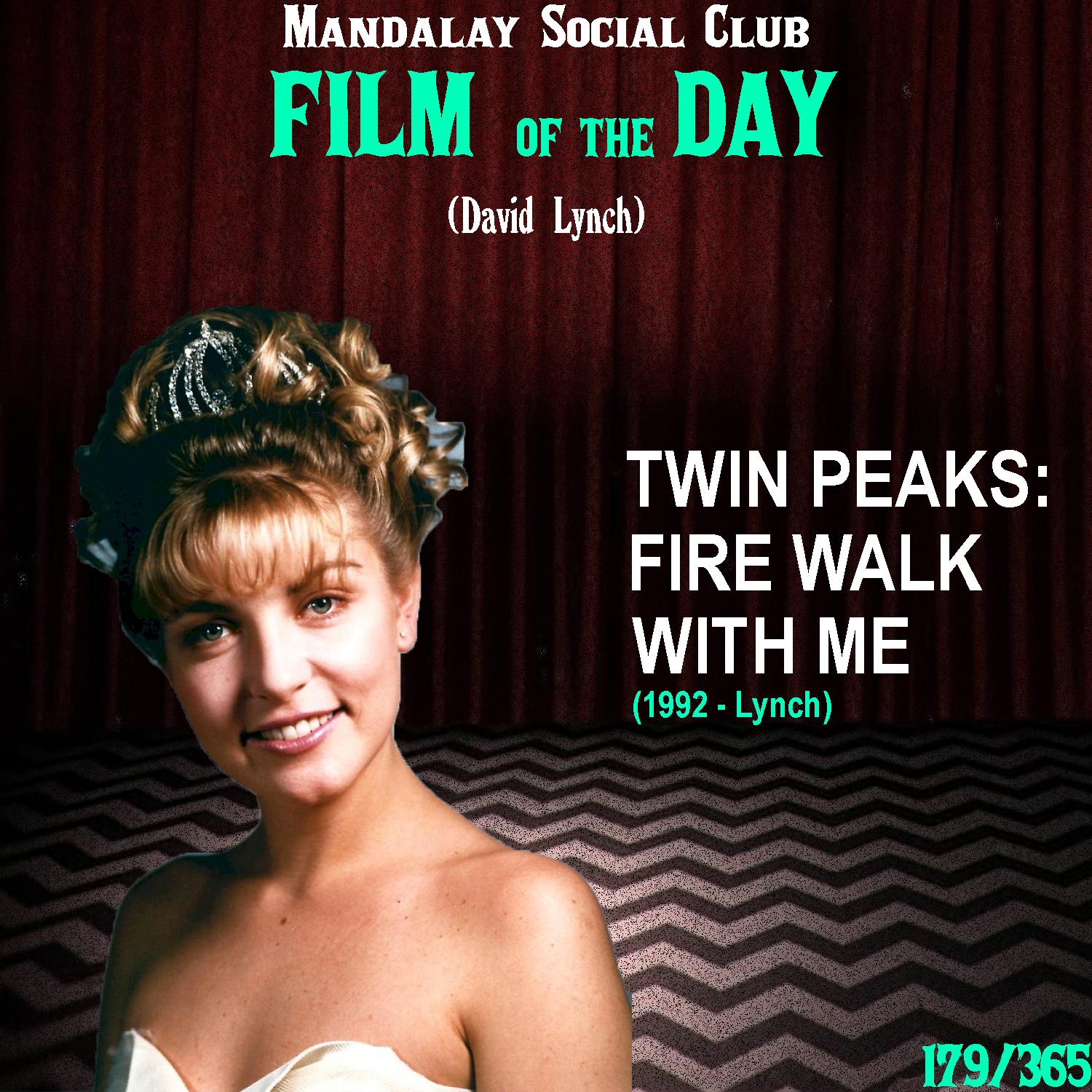 TWIN PEAKS: FIRE WALK WITH ME     (dir. David Lynch)   After ABC practically ruined Lynch's acclaimed television show  Twin Peaks , David was eager to get back into the  Twin Peaks  world and decided to make this prequel film that takes place right before the death of Laura Palmer!  The film opens with two FBI agents played by Chris Isaak and Keifer Sutherland, who arrive in Washington to investigate the murder of a young girl named Theresa Banks. During the investigation, Chris Isaak's character, Chet Desmond goes missing. The film then picks up in Twin Peaks, documenting the final days of Laura Palmer's life.  The film doesn't include many of the characters from the series, most of which declined in fear of being typecast, but it allowed David to expand the world and build up the mystery surrounding the death of Laura Palmer.  Fire Walk With Me  doesn't provide any answers fans were looking for at the end of the series, in fact it introduced us to even more questions surrounding the story. It is possibly the most avant garde film in his filmography and without seeing  Twin Peaks , this film acts as nothing more than random expressions of surrealism. Hell, even as a Twin Peaks fan it still feels that way.  This isn't a film that can be digested in one, two, or even three viewings. This film is like a fine wine and only gets more intriguing after each viewing.    4/5     WATCH: The Criterion Channel