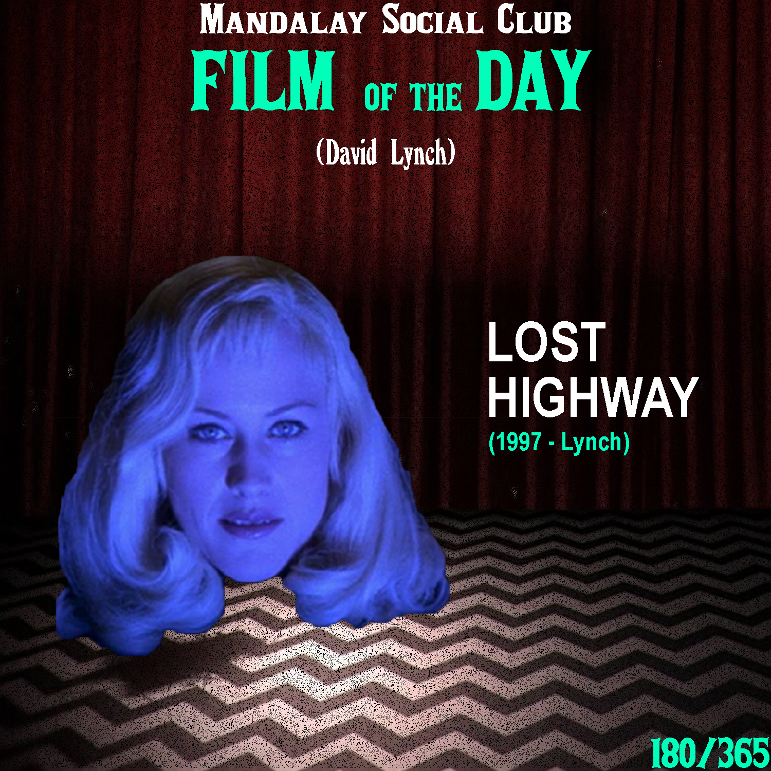 LOST HIGHWAY     (dir. David Lynch)   5 years after David closed the book on the world of Twin Peaks,  Lost Highway  introduced us to an altered world of Los Angeles that he would frequently enter over the rest of his film career.   Lost Highway  stars Bill Pullman as Fred Madison, a saxophonist who starts receiving strange video tapes in the mail that implies an intruder has been sneaking in and has been filming him and his wife, played by Patricia Arquette. The final tape that Fred receives shows him killing his own wife which leads to prison time followed by a death sentence. However, while in his cell Fred transforms into a 24 year old mechanic named Pete. Pete is then released from prison where he meets a doppelgänger version of Fred's wife named Alice, who leads him further into the mysteriously convoluted world of  Lost Highway .  This, like most of Lynch's films take time to grow on you and it wasn't until my third viewing of  Lost Highway  that I truly enjoyed it.  Lost Highway  introduced a lot of tropes that would become apart of Lynch's vision including the use of doppelgängers and the use of LA as a surreal wasteland of mystery. At many points,  Lost Highway  feels a lot like a rough draft of David's 2001 masterpiece  Mulholland Dr  and it's clear that many of the ideas swirling around in his head for  Mulholland  presented themselves during the making of this film.  With plenty of allusions to Robert Aldrich's 1955 noir  Kiss Me Deadly , Lynch creates a nightmarish tale about infidelity, paranoia, and the struggle of coming to terms with the choices you make. Behind  Blue Velvet  and  Mulholland Dr ,  Lost Highway  truly is one of the quintessential Lynchian films!    4.5/5     WATCH: Putlocker (FREE), iTunes (RENT)
