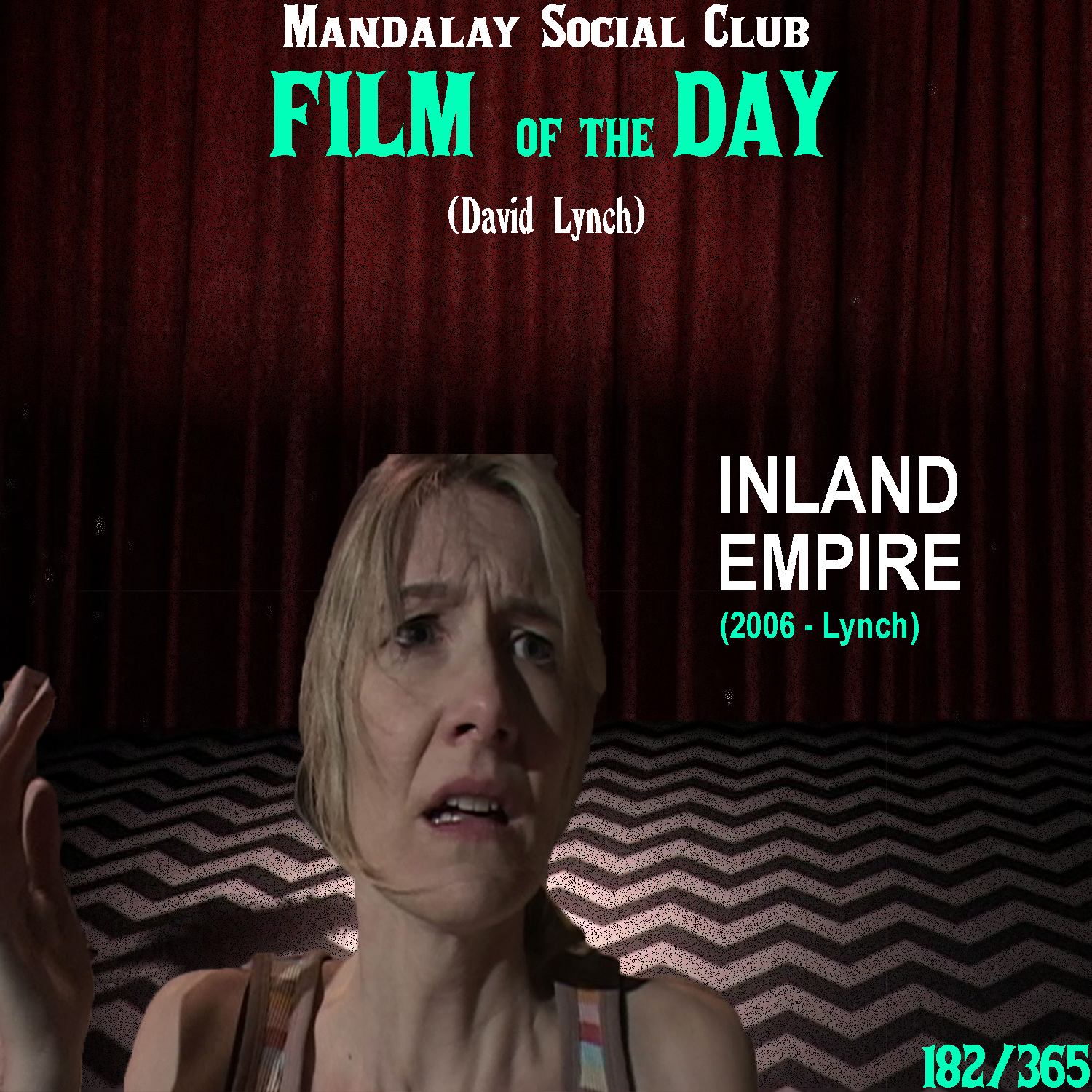 INLAND EMPIRE     (dir. David Lynch)   I begin writing this review with a deep sigh. The last film David released,  Inland Empire , is not only David's most convoluted and dense film, but quite possibly the most incomprehensible film I've ever seen.  I can't do much in ways of giving a synopsis other than note that Laura Vern plays an actress named Nikki who receives a strange premonition that she'll get a role in a film involving murder. Sure enough, the role she receives for a drama film, slowly reveals evil within. On the set she begins an affair with her co-actor Devon, played by Justin Theroux. From this point on, a series of strange vignettes and short films inter-cut the storyline with Nikki as she begins traveling through various storylines in what feels like a never ending stream of consciousness.  Now, I'm by no means saying that this is a bad film. However, it is incredibly difficult to sit through and watch. Beyond the impossible 'plot', David shot the film on a Standard Definition camcorder. The quality here is not great, yet it loans an interesting home-movie feel to it, which makes Inland Empire 100x creepier than if it were done professionally. However, the 3 hours run time drags on to the point of insanity and the pure expressionistic approach David took makes this a film  for  David and nobody else. Not even the true Lynch fans.    2/5     WATCH: Ok.Ru (FREE)