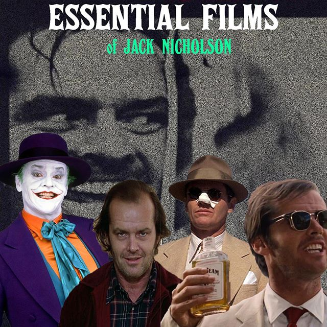 Check out our essential list of Jack Nicholson films! - What's your favorite!? --- LINK IN BIO to read more!