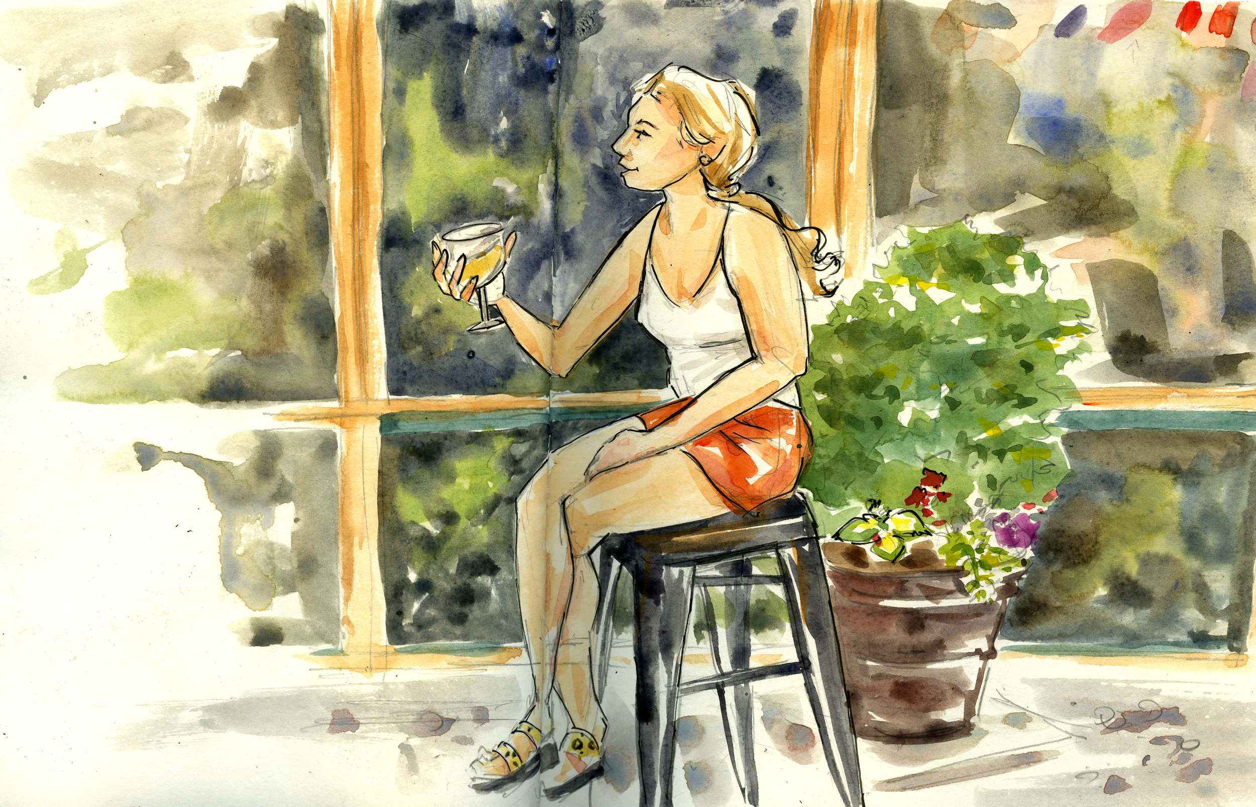 Patio Girl dana cohen artist washington dc.jpg