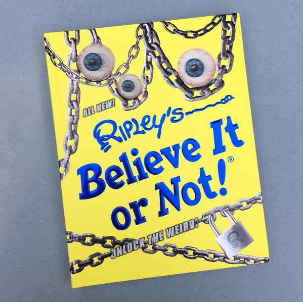 """Schaefer's Auto Art in Ripley's Believe It Or Not! """"Unlock The Weird!"""""""