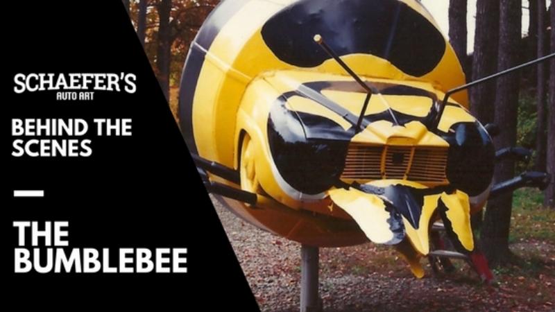 Behind The Scenes Schaefer's Auto Art Bumblebee