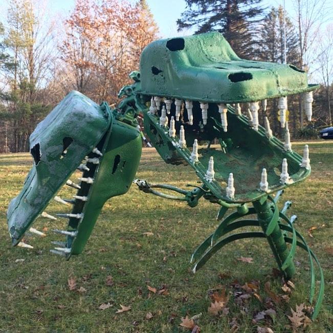 Two Headed Dinosaur Schaefer's Auto Art.jpg