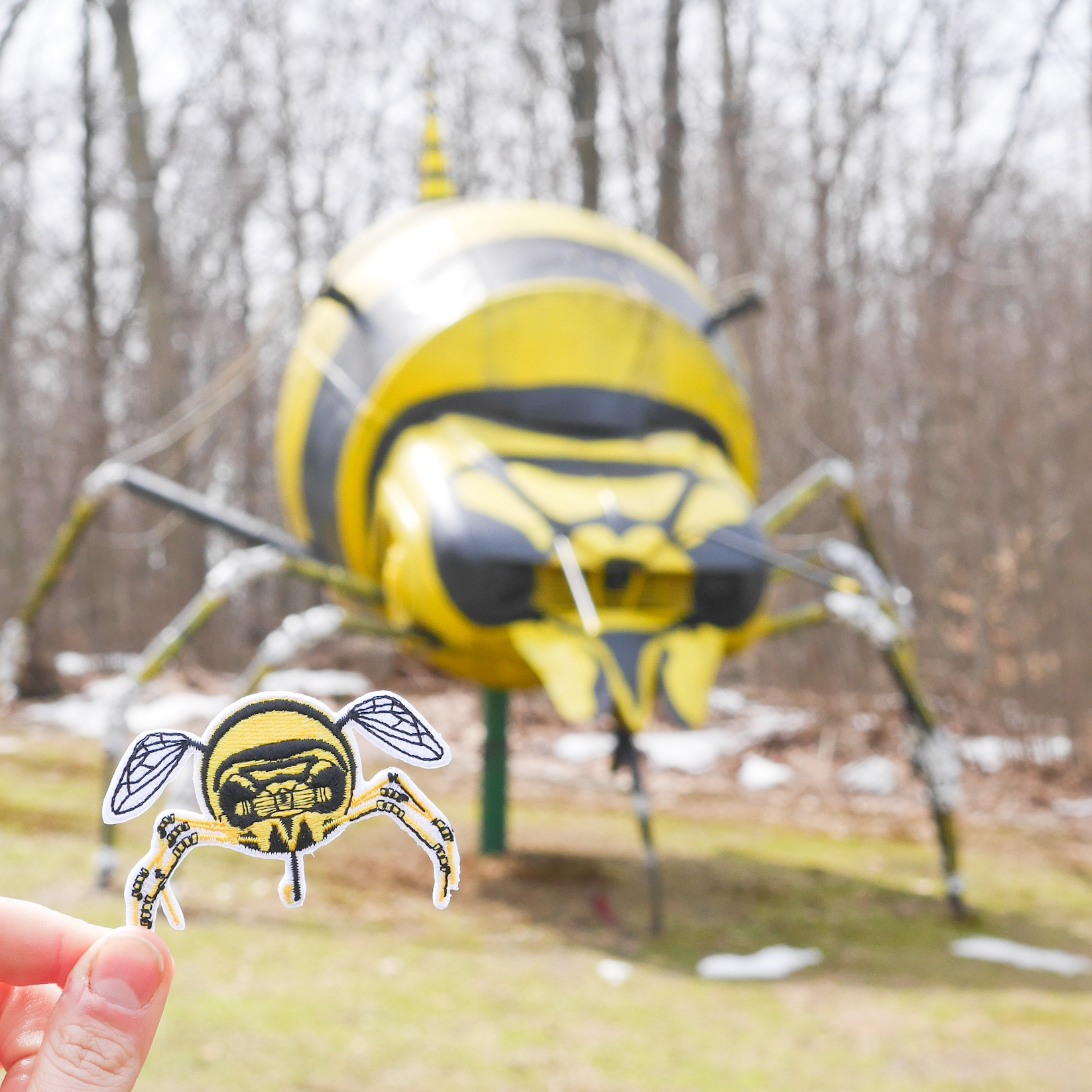 Schaefer's Auto Art Bumblebee Patches