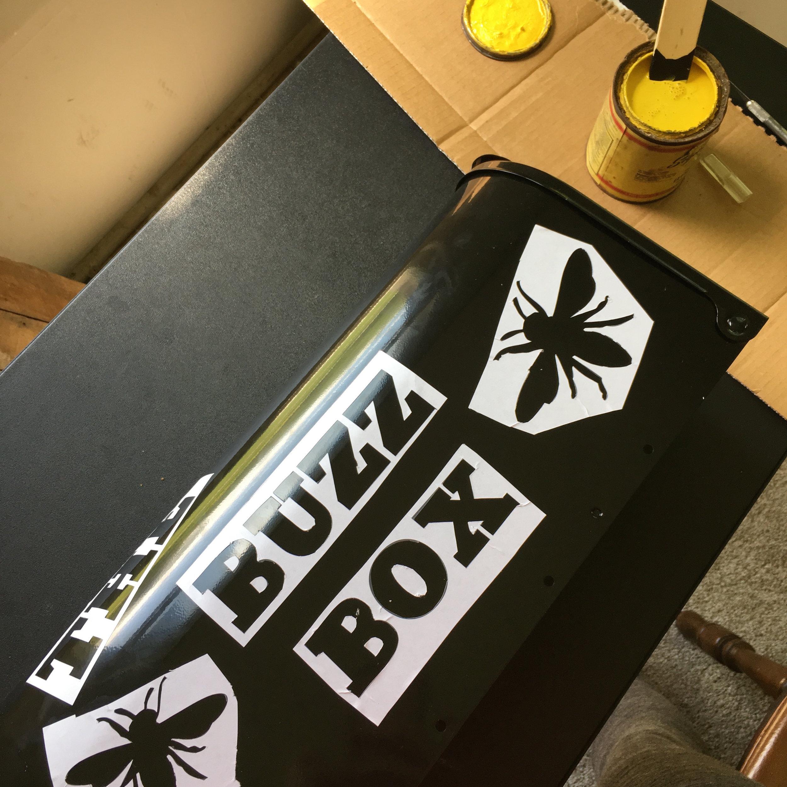 The Buzz Box at Schaefer's Auto Art in Erie, Pennsylvania