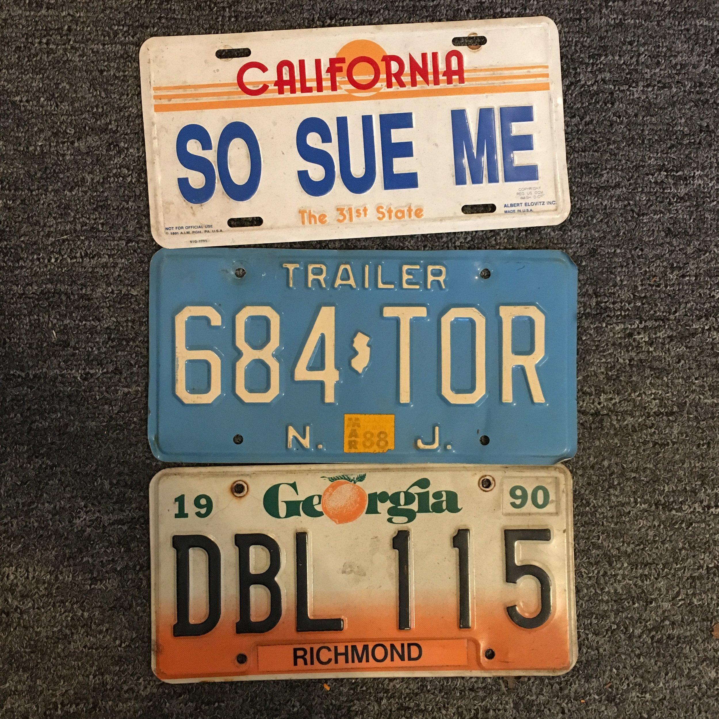 Plates Picked- Schaefer's Auto Art Flag BTS.JPG