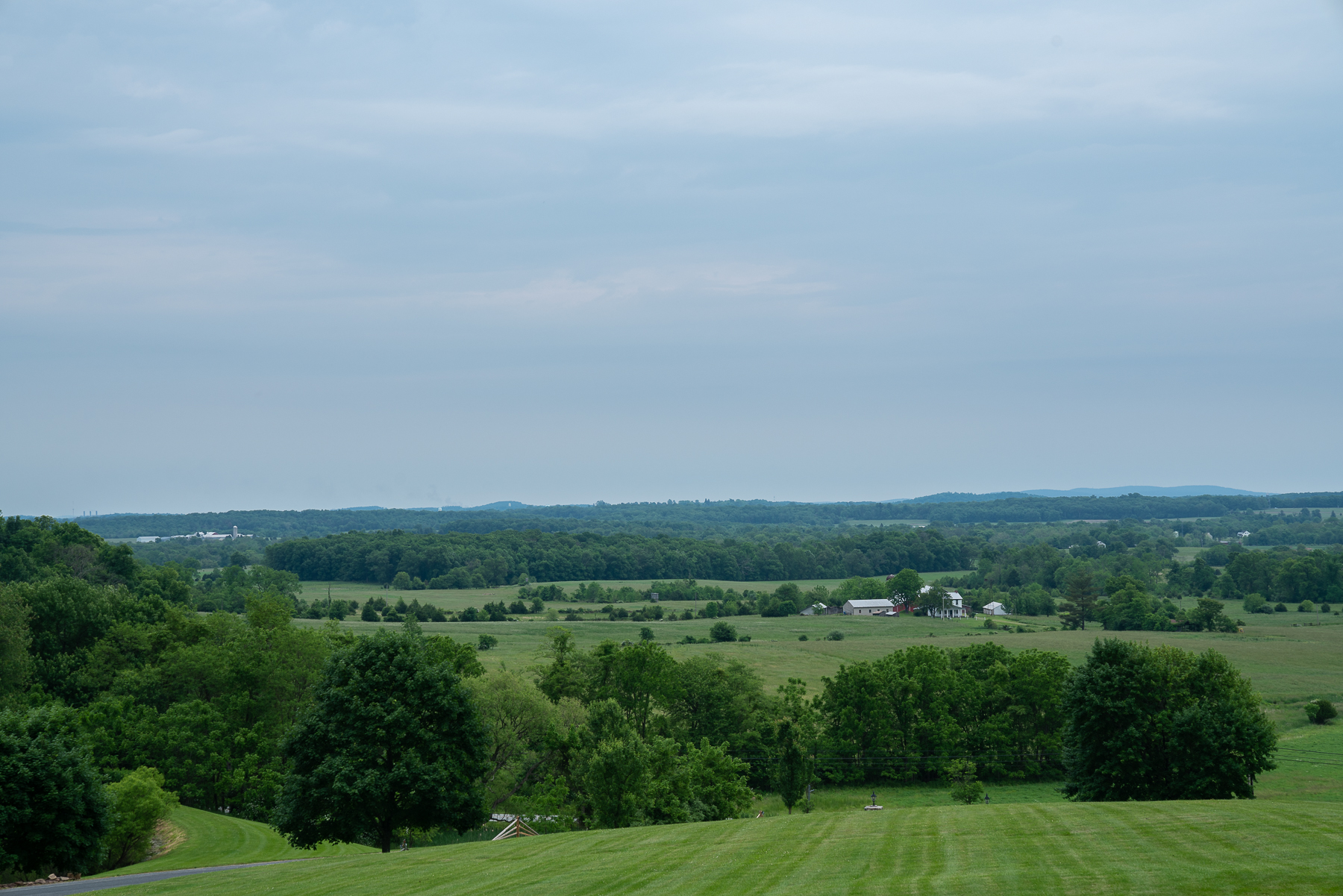 The stunning view at The Lodges of Gettysburg.