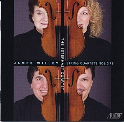James Willey: Quartets 3, 7 & 8