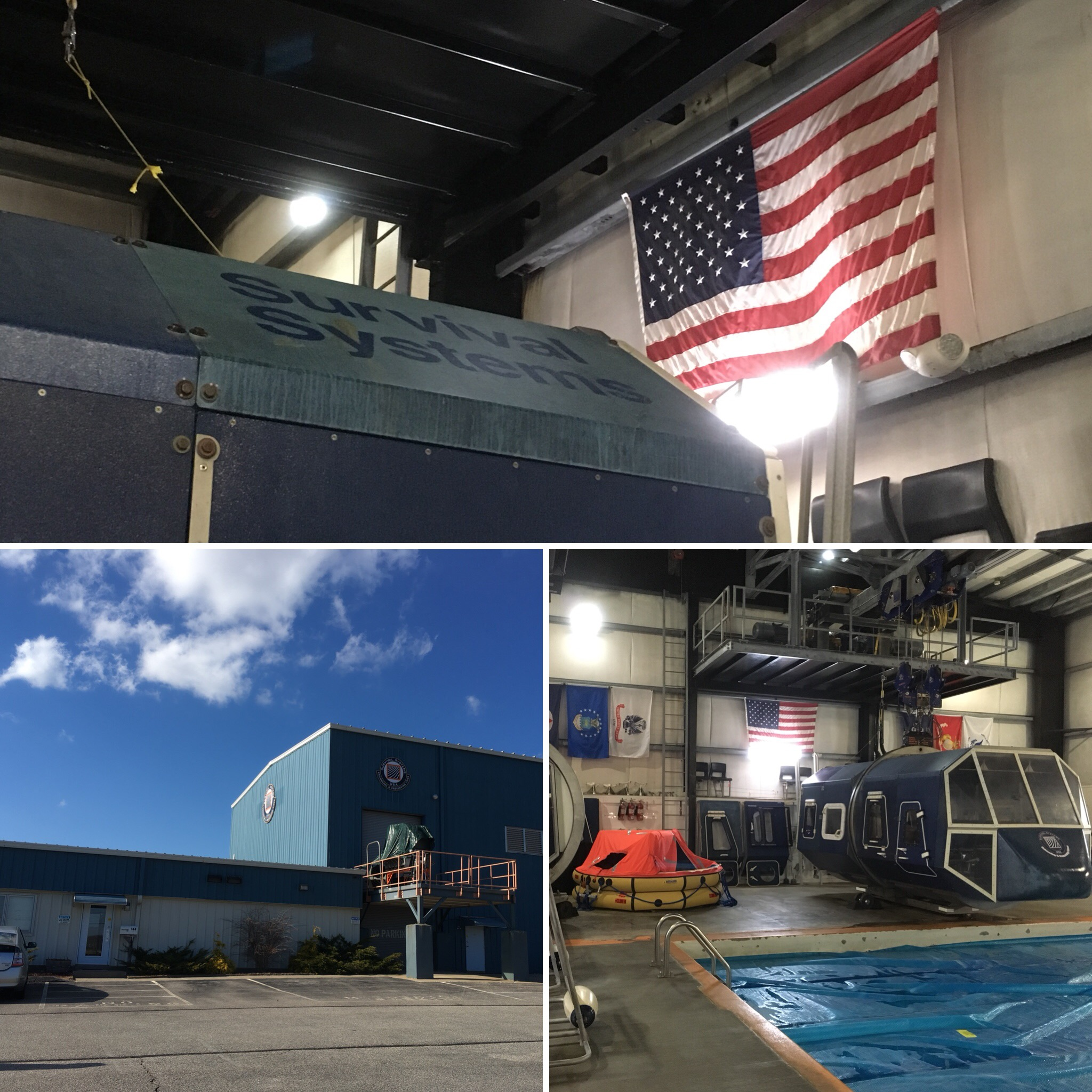 Survival Systems USA Facility in Groton, CT