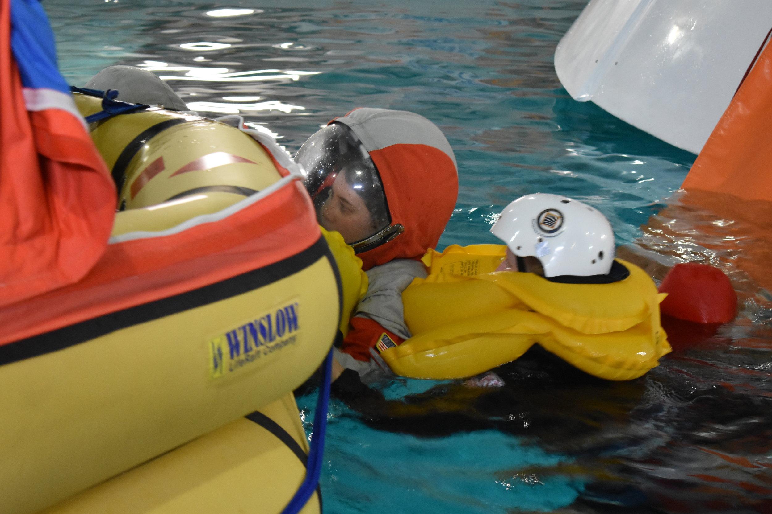 Boarding Raft!