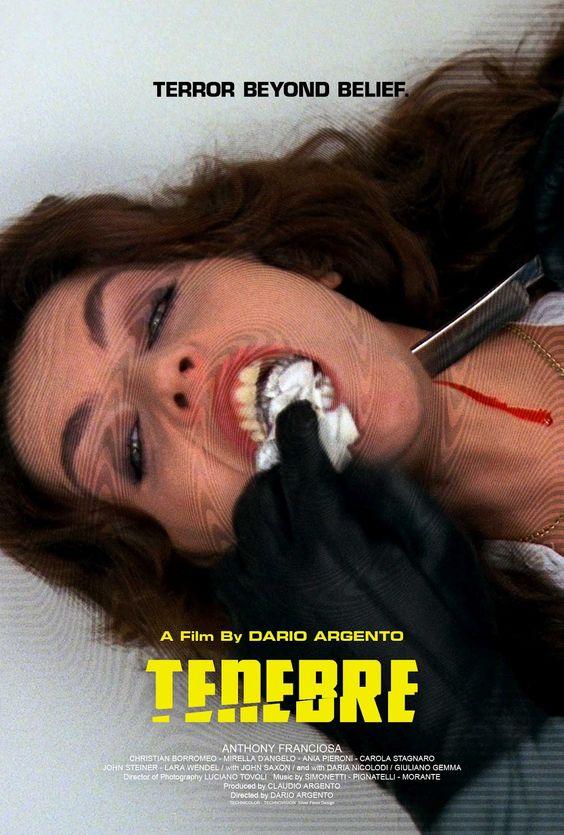 Tenebre  (1987)directed by Dario Argento