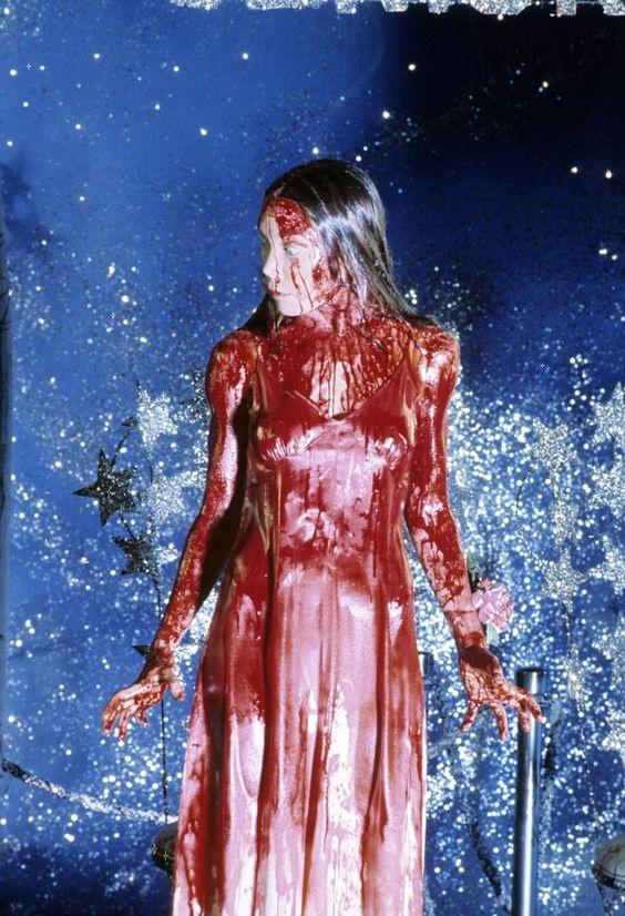 Sissy Spacek in  Carrie  (1976)  directed by Brian De Palma