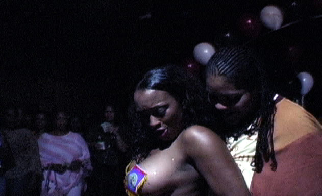 In this intimate and skillfully crafted documentary, we are taken deep into the world of Los Angeles's African-American lesbian club scene. At this legendary weekly party, dancers like Egypt, who found her way to the stage by accident, and Mahogany, the Queen Bee and mother of the clan, spill their hearts out both behind the scenes and on stage. We are confronted with the realities of their lives as they navigate personal and professional relationships with fans, club owner Ronnie, and each other. When one of many police raids sends the club into chaos, everyone must decide what their next move is. This film is a window into the rarely-seen-on-screen world of black female pleasure.   SAT   July 21   CAAM   8:30 PM