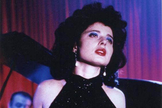 Isabella Rossellini as Dorothy Vallens in  Blue Velvet