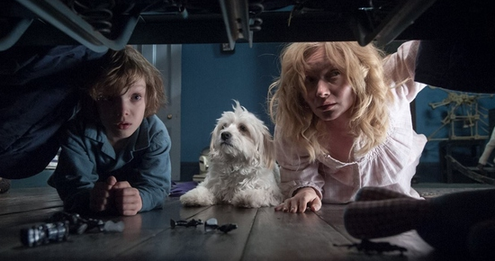 Cancer:    The Babadook (2014)    directed by Jennifer Kent   Cancer, out of all the water signs, you are the least attracted to the macabre and supernatural. I wanted to take you out of your element this month by choosing a horror film for you, it is almost Halloween, afterall. The selection process for this was easy, I recalled immediately a film that combines the hardships of motherhood, emotional depth, and a terrifying monster,  The Babadook . Australian filmmaker Jennifer Kent's directorial debut, Kent collaborated with college friend Essie Davis, who stars in the film as Amelia, a widowed caretaker and mother to Samuel (Noah Wiseman), a violent and troubled young boy. Attempting to lure Samuel into going to sleep one night, Amelia reads to him a strange book called  The Babadook,  which reads like very dark nursery rhyme of sorts. After this night, Samuel's troubled behavior becomes increasingly erratic, and when questioned, he blames the Babadook for his actions. Of course Amelia is in disbelief of what she sees as a preposterous claim, that is until the Babadook begins appearing to her as well. What it as once both an excellent and fun horror flick and a delicate study of motherhood, I hope this film will entertain you, Cancer. As a Cancer, there is pressure to have a positive and strong relationship with one's mother, but of course, not everyone has a mother, and even the best mothers are flawed. I know many Cancers who grow resentful of their mothers due to their imperfections, and I hope watching The Babadook will serve as a reminder that mothers are first and foremost humans. Mothers are messy, and that is someone we all must accept and embrace.