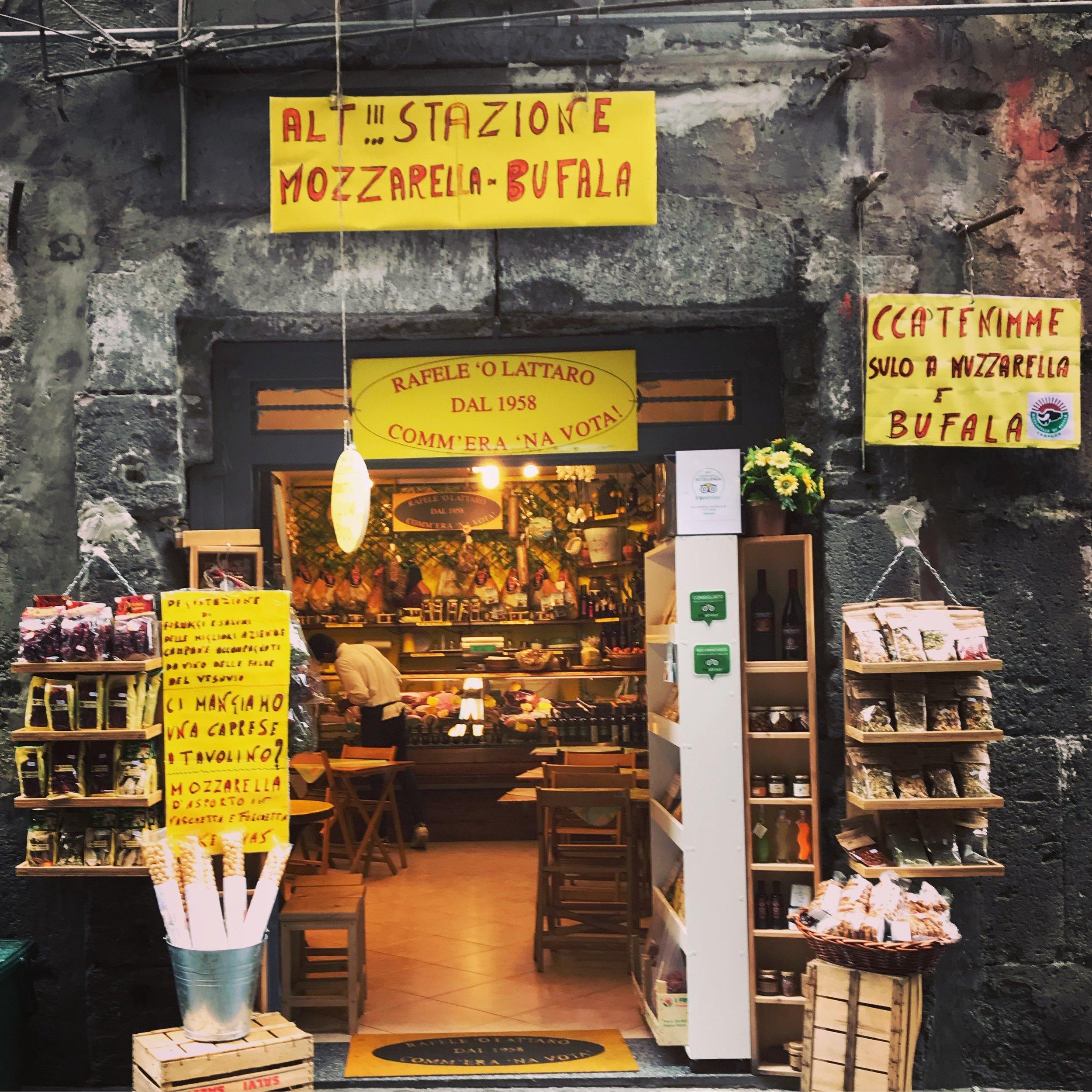 14 Spaccanapoli Mozzarella Store.JPG