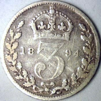Three pence from the year of the treaty