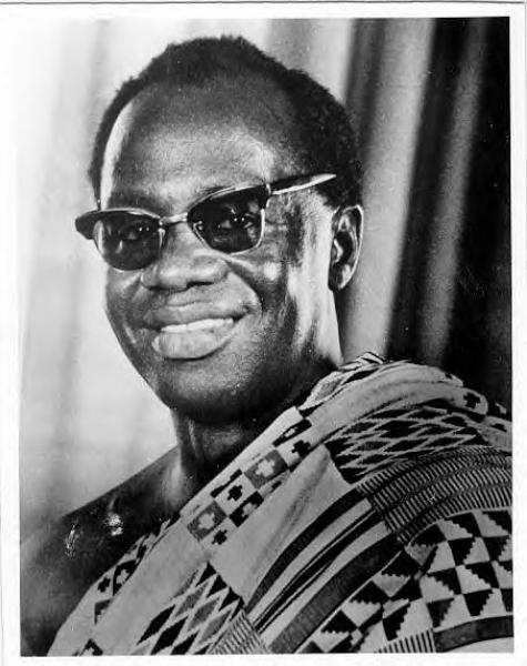 Dr. Kofi Abrefa Busia went into exile in 1957, prior to the promulgation of the Preventive Detention Act