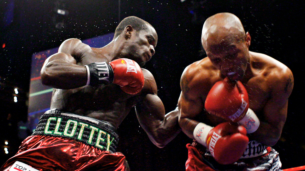 Clottey methodically breaking down Zab Judah for the crown