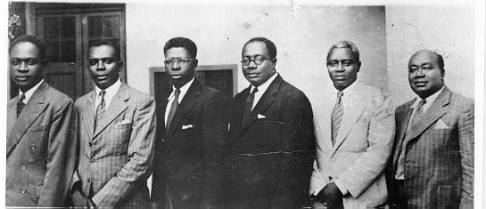 """""""Big Six"""" leaders of the UGCC"""
