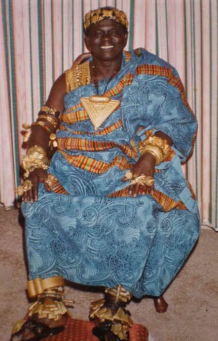 Odeefuo Boa Amponsem III, the King of Denkyira