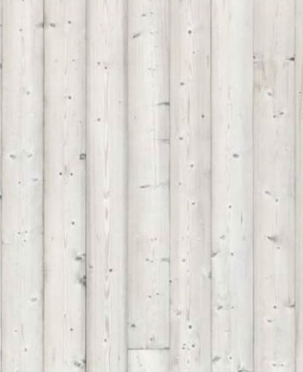 LIGHT STAINED WOOD SIDING / SCREEN