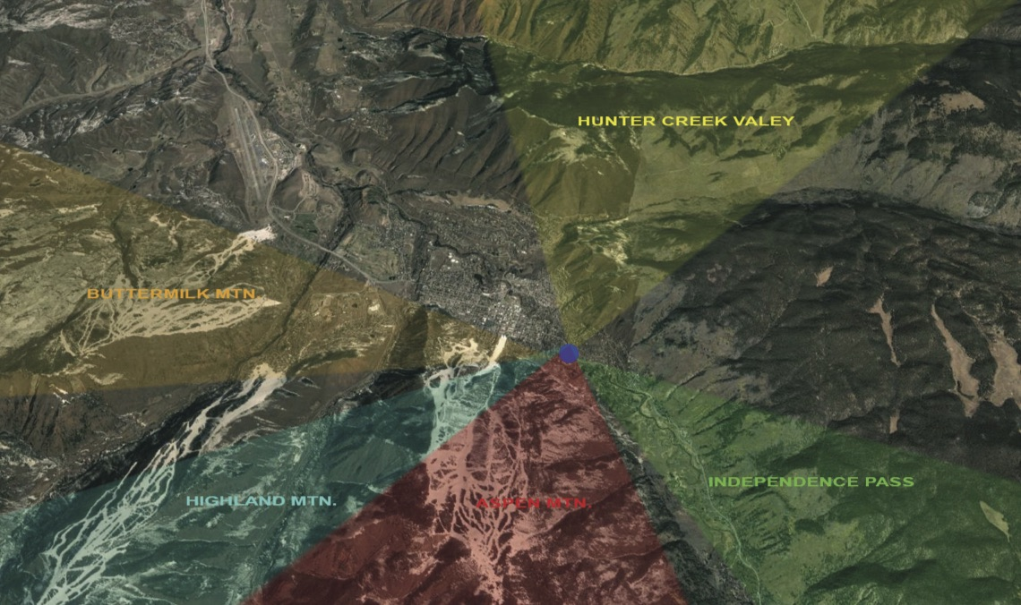 Distant View Diagram - Aerial Image