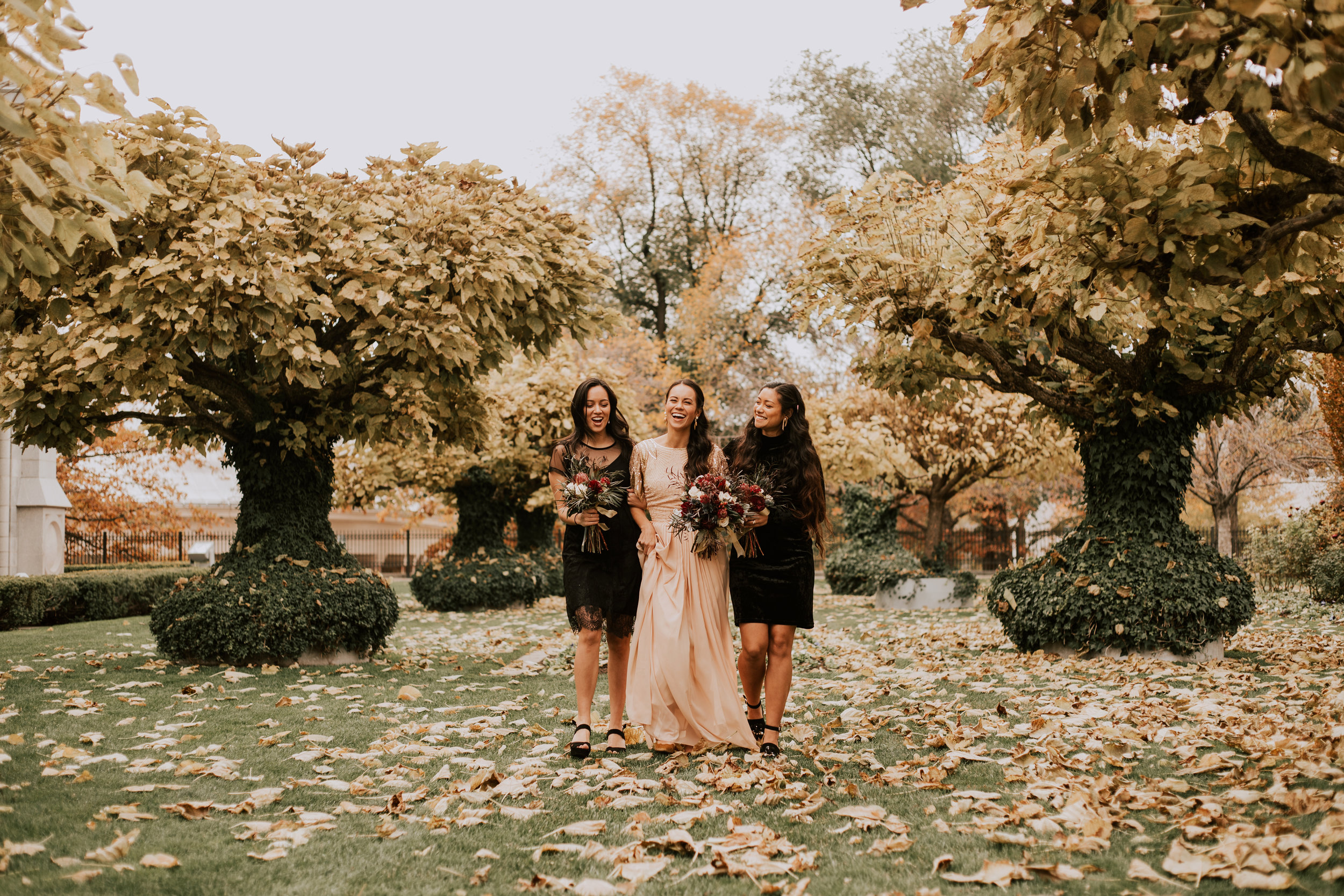 Halloween Wedding in Salt Lake City - Salt Lake City Wedding Photographer - Utah Wedding Photography by Natalie Michelle Photo Co.