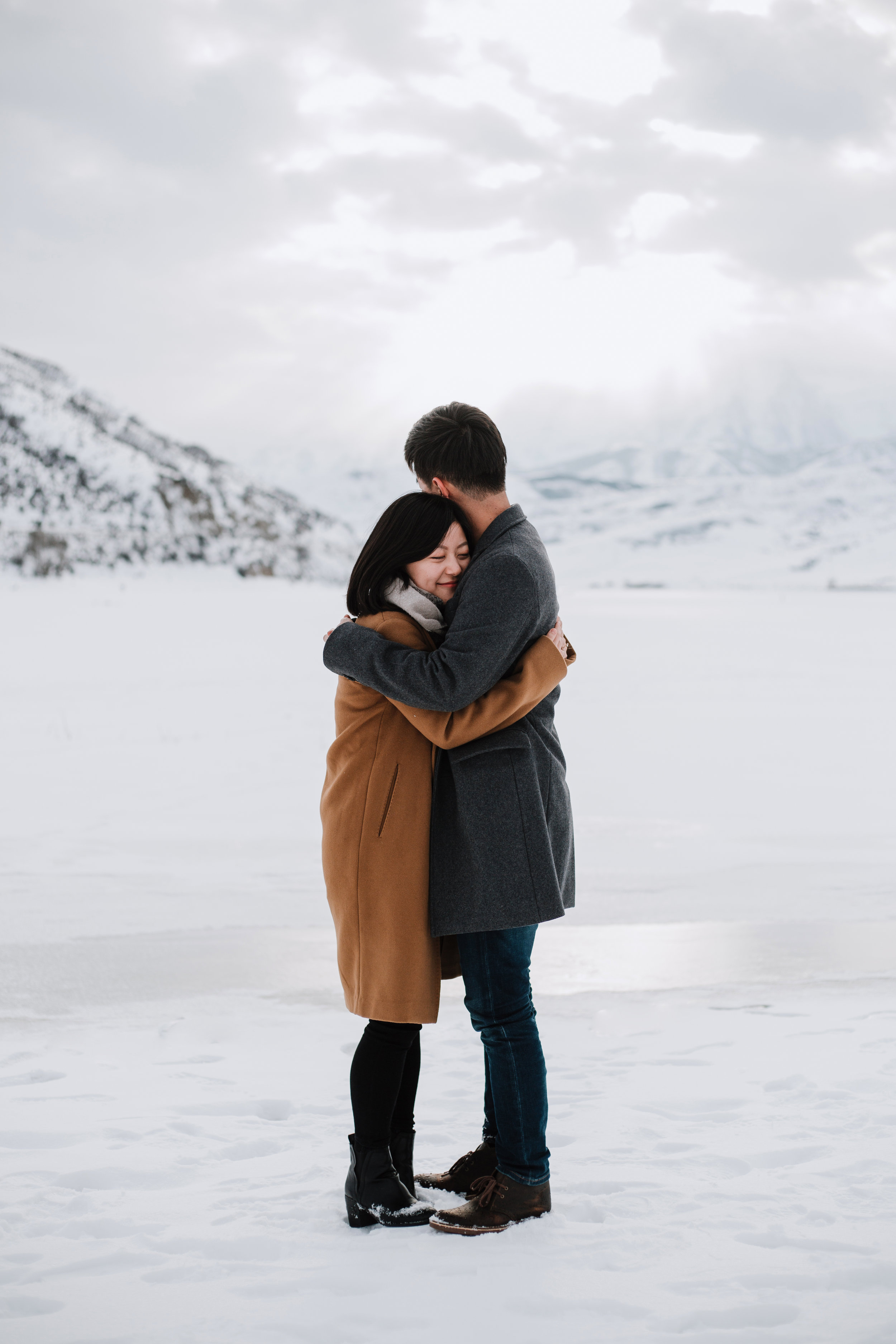 Winter Engagements in Park City