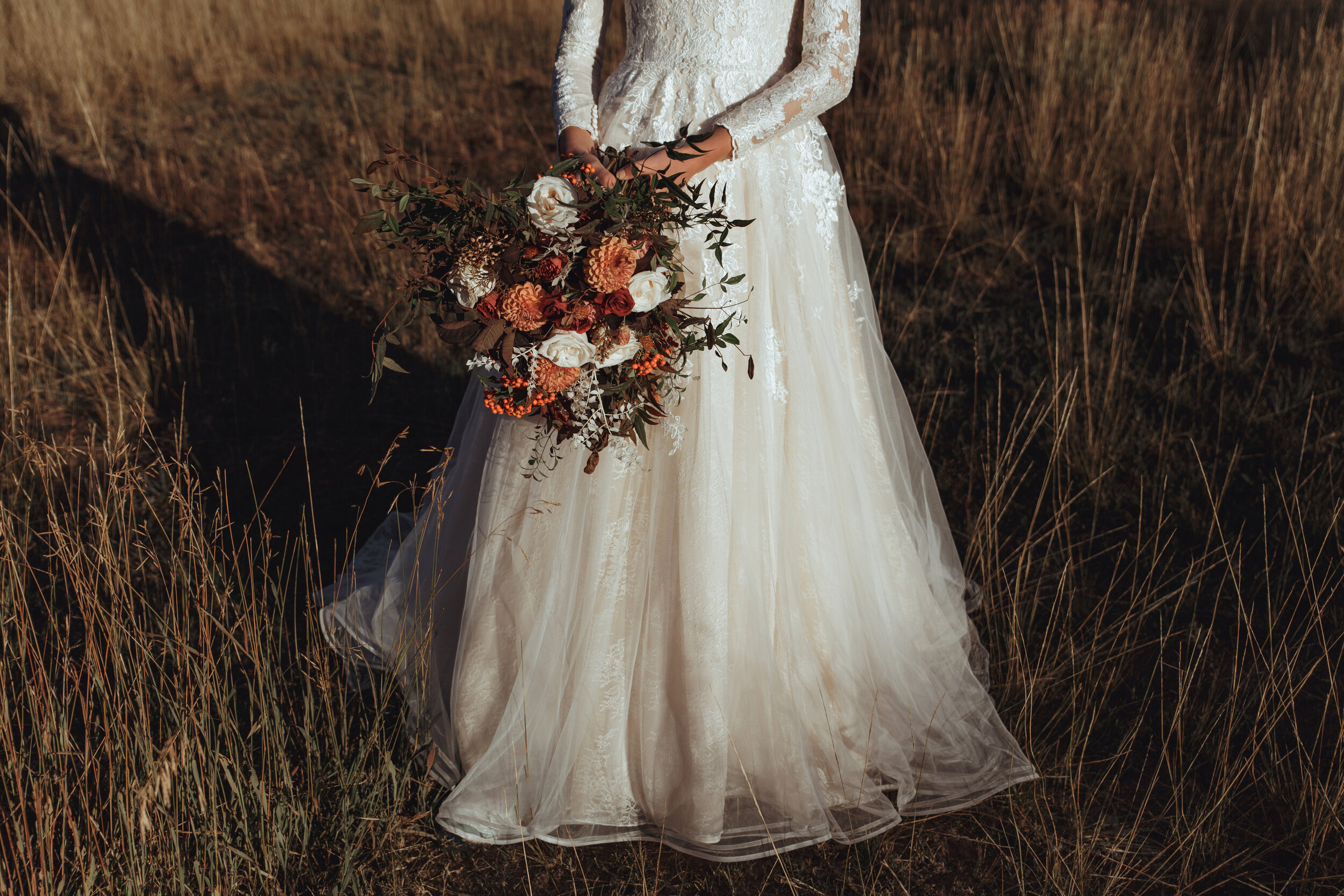 Autumn Bridal Editorial | Southern California Wedding Photographer